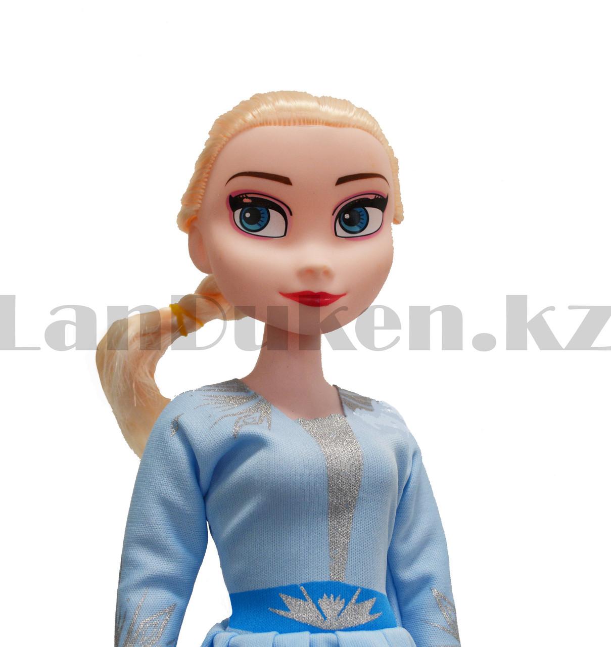 Детская музыкальная кукла Эльза Холодное сердце (Frozen) 42 см - фото 2
