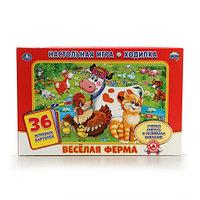 """Настольная игра-ходилка """"Весёлая ферма"""" (с карточками), фото 1"""