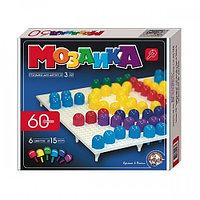 Детская пластмассовая мозаика,60 элементов