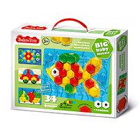 Мозаика для самых маленьких 34 эл BABY TOYS, фото 1