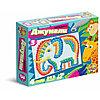 Пластмассовая детская мозаика «Джунгли», 312 элементов