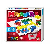 Пластмассовая мозаика для детей,100 элементов,2 поля