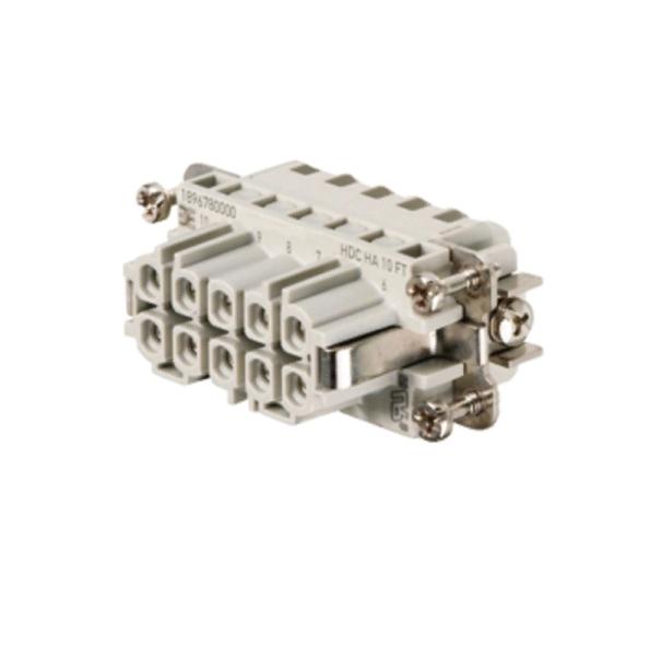 HDC HA 10 FT Вставка соединительного разъема