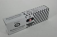 Скальпель Biolancet Budget №18 с защитным колпачком из углеродистой стали,одноразовый стерильный
