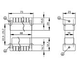 HDC HA 16 FT 17-32 Вставка соединительного разъема, фото 2