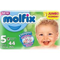Подгузники детские MOLFIX JUNIOR JUMBO №5 (44шт/уп) + Влажные салфетки (60шт/уп)