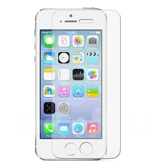 Защитное стекло A-Case Apple iphone 5, iphone 5S, iphone SE
