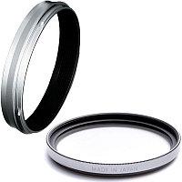 Fujifilm Weather Resistant Kit for X100V Silver (переходное кольцо AR-X100 + защитный фильтр PRF-49)