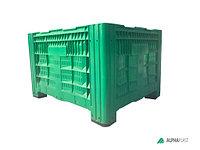 Перфорированный биг бокс, большой пластиковый контейнер, крупногабаритный контейнер