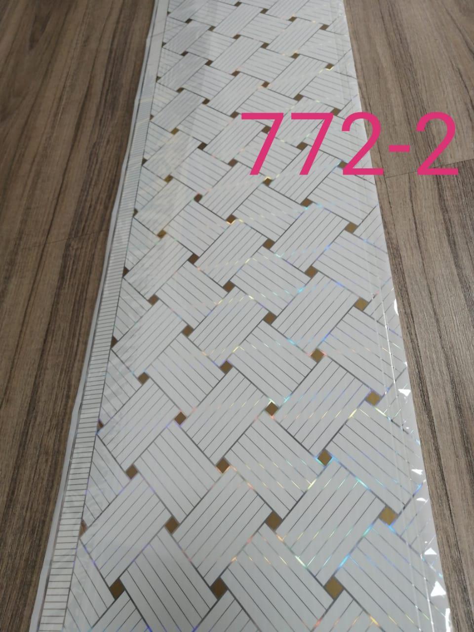 Декор панель потолочная (772-2)