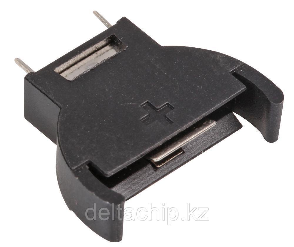 BOX Bat Holder CR2032 с вертикальными выводами