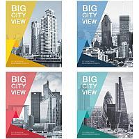 "Тетрадь 48л., А5, клетка ArtSpace ""Путешествия. Big city view"""