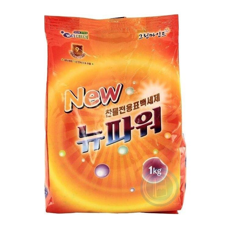 Welgreen Концентрированный стиральный порошок New Power Detergent / 1 кг.