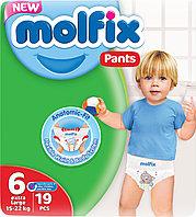 Подгузники-трусики MOLFIX №6 E.LARGE. (19шт/уп)