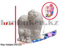 Набор для детского творчества копилка раскраска Hello Kitty, кисточка и краски 8 цветов