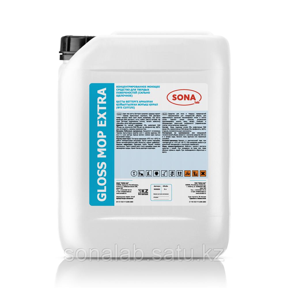 Gloss Mop Extra- Концентрированное моющее средство для твердых поверхностей, 5л