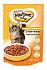 Влажный корм для кошек Мнямс Идеальный баланс с курицей в соусе (паучи)