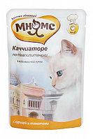 Влажный корм для кошек Мнямс Каччиаторе по-Неаполетански курица с томатами (паучи)