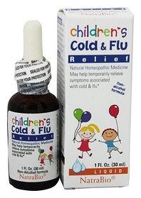 NatraBio, Средство от простуды и гриппа для детей, 30 мл (1 жидк. унция)