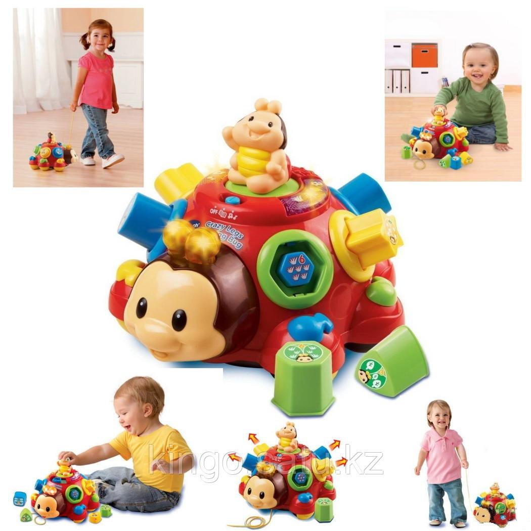 """Музыкальная развивающая игрушка Play Smart Волшебный ларец """"Божья коровка"""", """"Черепаха"""""""