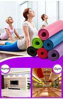 Коврик для йоги и фитнеса Йогамат (4 мм)