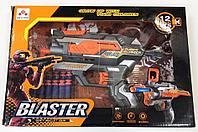 Пистолет бластер с поролоновыми снарядами Blaster с 12 снарядами