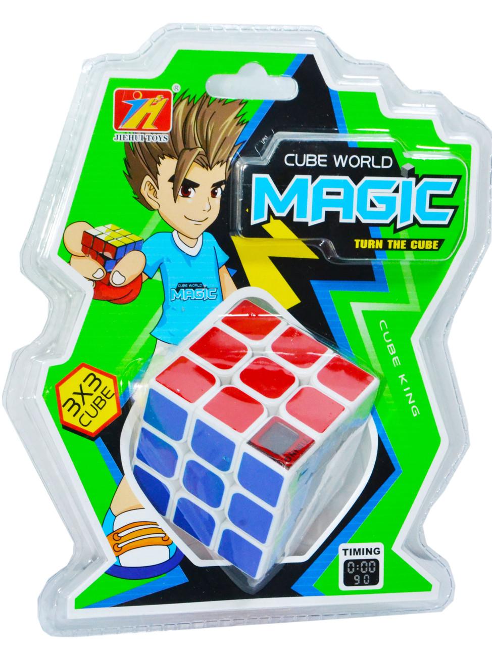 408 Magic кубик рубика 3*3 с цифровым счетчиком 21*16см