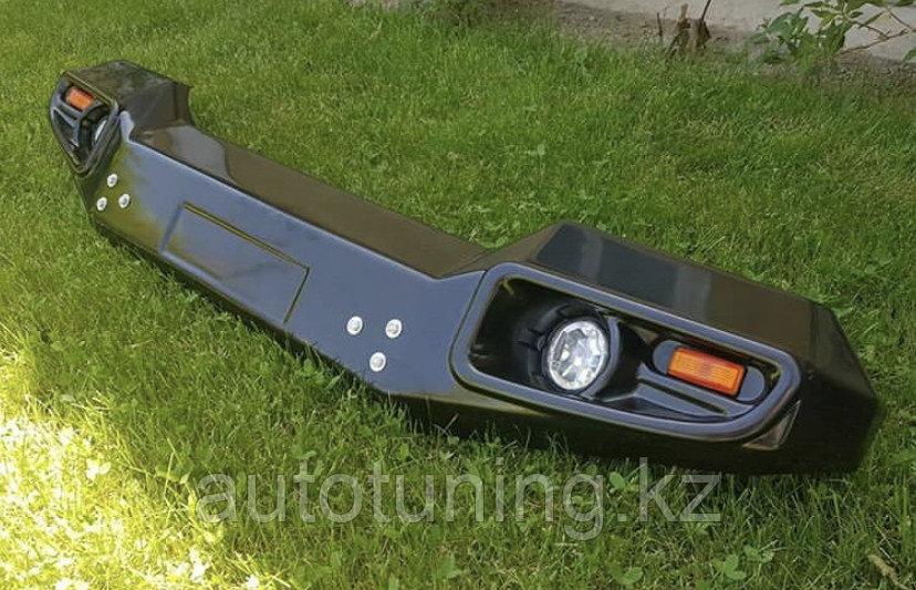 Ударопрочный передний бампер на TLC PRADO 78 1990+