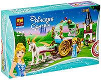Конструктор LARI Happy Princess Карета Золушки 11174 (Аналог LEGO Disney Princess 41159) 92 дет.