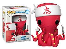 Funko Pop - Monsters - Chef - 388
