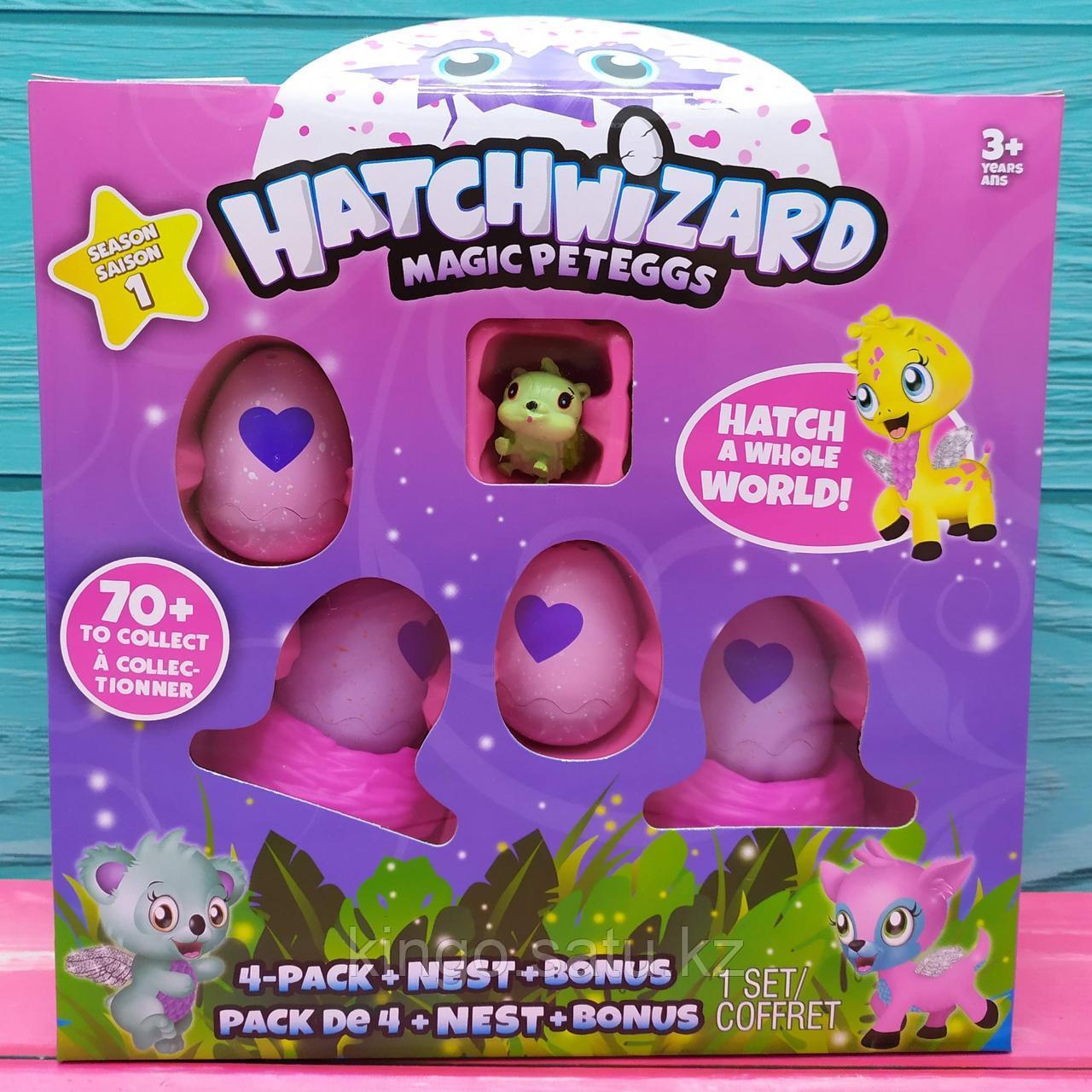 Игрушка в яйце HatchWizard Magic Peteggs (4 яйца)