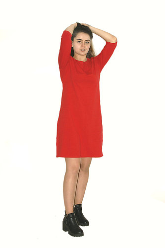 Платье - поло для девушек / мода 2020