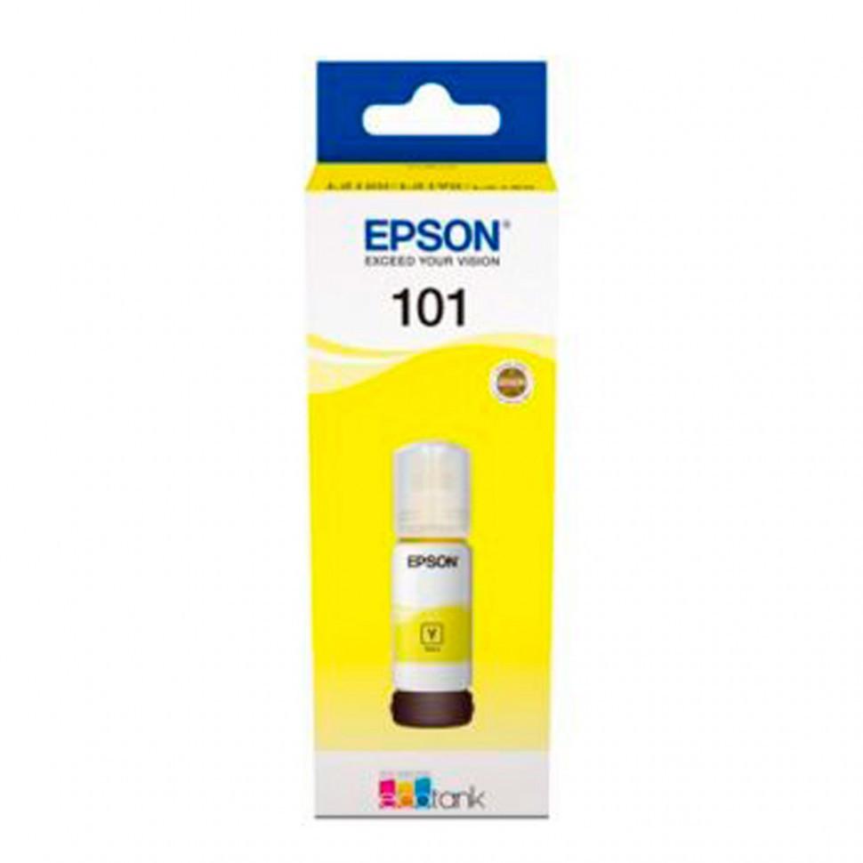 Чернила Epson 101 EcoTank 70ml для L4150/L4160 жёлтый
