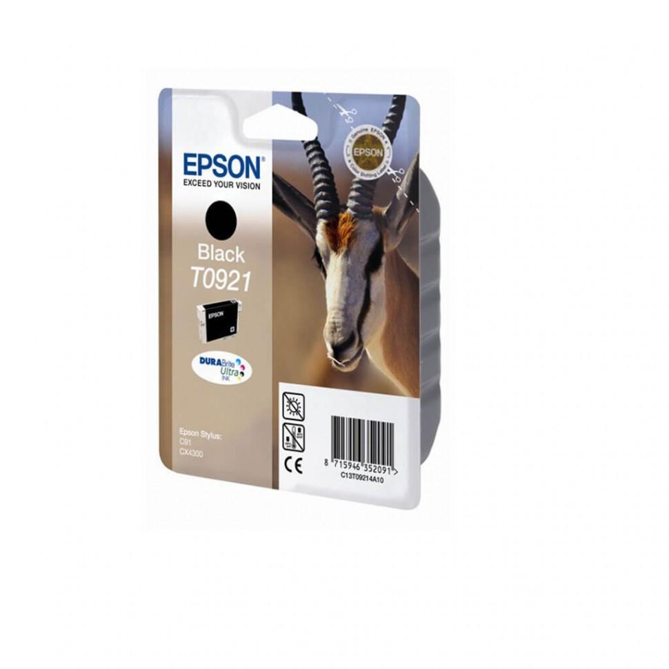 Картридж Epson C13T10814A10 I/C black  (0921)