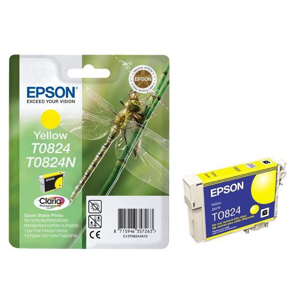 Картридж Epson C13T11244A10,  yellow