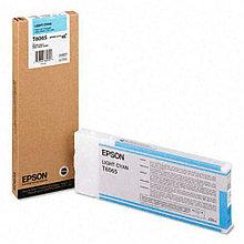 Картридж Epson T6065 Light Cyan 220 мл (C13T606500)