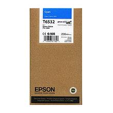 Картридж Epson T6142 Cyan 220 мл (C13T614200)