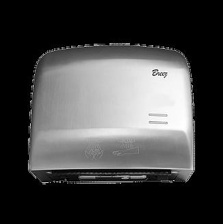 Высокоскоростная сушилка для рук Breez BHDA 1250 B серия AirMax (нержавеющая сталь), фото 2