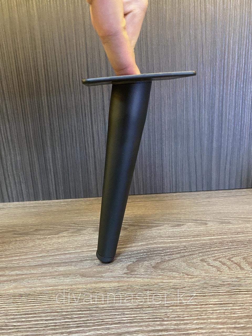 Ножка стальная с наклоном, для диванов и кресел, 17 см