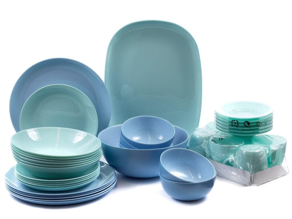 Столовый сервиз Luminarc Diwali Turquoise & Light Blue 38 предметов (Q0004)
