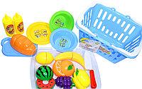 NF594-54 Корзина с фруктами и продуктами (можно резать) Kitchen set Basket 21*25см, фото 1