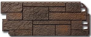 """Фасадные панели VOX 420x1000 мм (0,42 м2) Solid Sandstone """"Dark Brown"""" Твердый Песчаник """" Темно-Коричневый"""""""