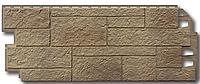 """Фасадные панели VOX 420x1000 мм (0,42 м2) Solid Sandstone """"Light Brown"""" Твердый Песчаник """" Светло-Коричневый"""", фото 1"""