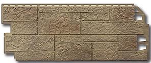 """Фасадные панели VOX 420x1000 мм (0,42 м2) Solid Sandstone """"Light Brown"""" Твердый Песчаник """" Светло-Коричневый"""""""