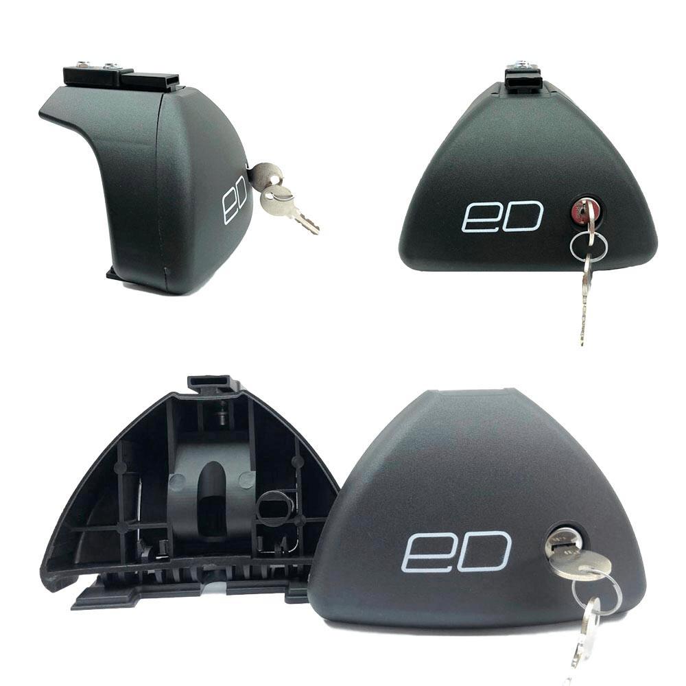Комплект опор для автомобилей с гладкой крышей (с замком)