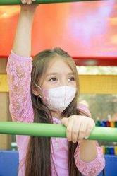 Детская маска-респиратор медицинская