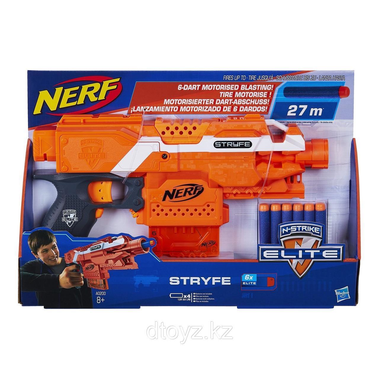 Бластер Nerf Elite Страйф
