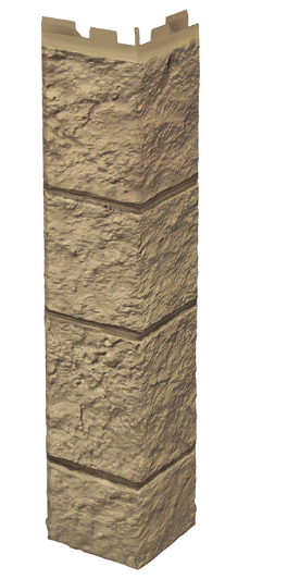 """Наружный угол 420 мм VOX Solid Sandstone """"Light Brown"""" Твердый Песчаник """" Светло-Коричневый"""""""