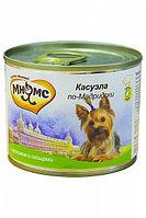 Влажный корм для собак всех пород Мнямс Касуэла по-Мадридски с кроликом и овощами