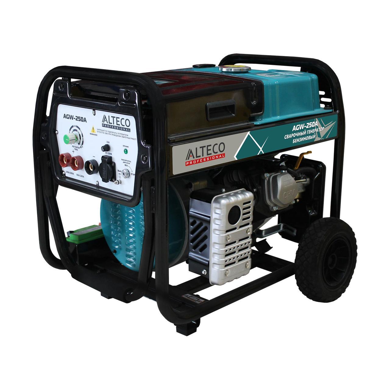 Бензиновый генератор сварочный Alteco Professional AGW-250A 2 кВт